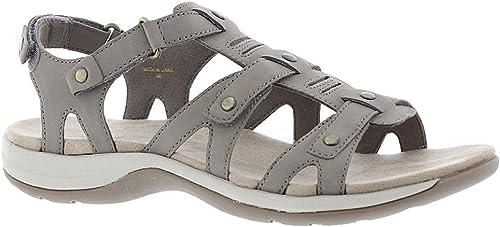 Easy Spirit Wohommes Sailors Flat Sandals Taupe 9 9 M  vente en ligne