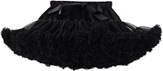 Baby Girls Tutu Skirt Princess Fluffy Soft Tulle Ballet Birthday Party Pettiskirt (9M-8T)