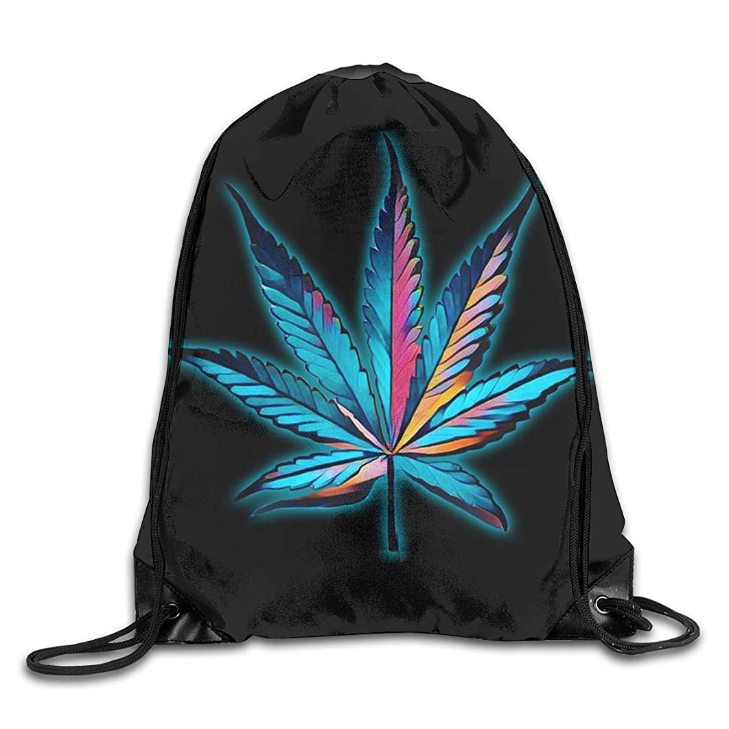 Percolation Men & Women Sport Gym Sack Dancing Bag Drawstring Backpack For Beach Hiking Travel Bags