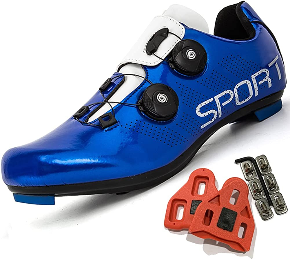 Cycling Shoes 正規品送料無料 Women Men Road 売り出し Bike Buckle Cleat SPD Shoe Peloton