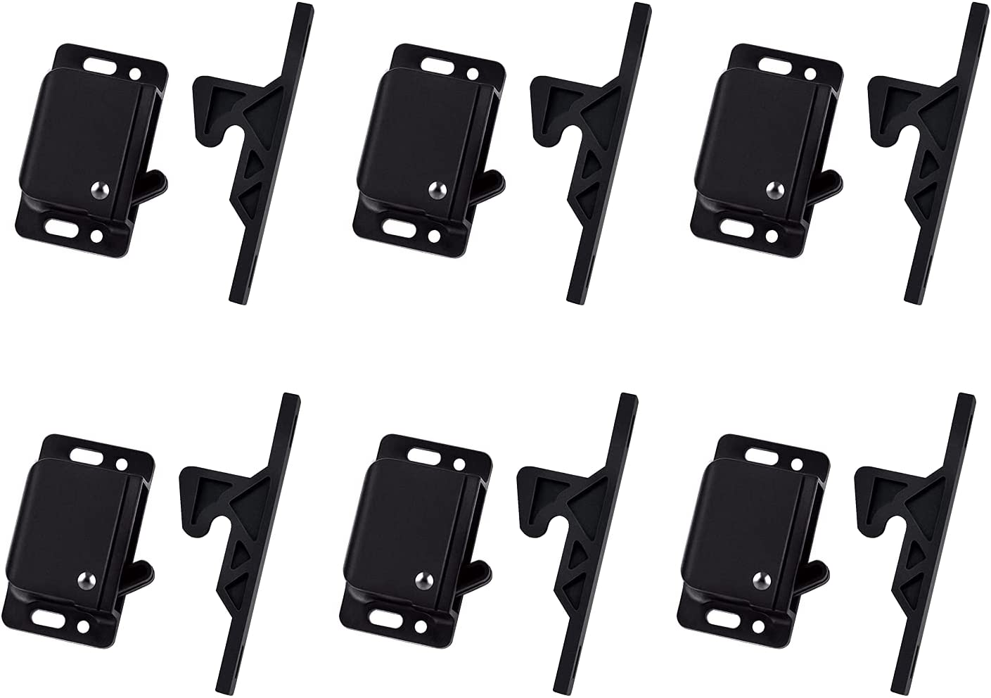 6 Pack Cabinet Door Latch Limited Miami Mall price sale RV Drawer and Home Latches for
