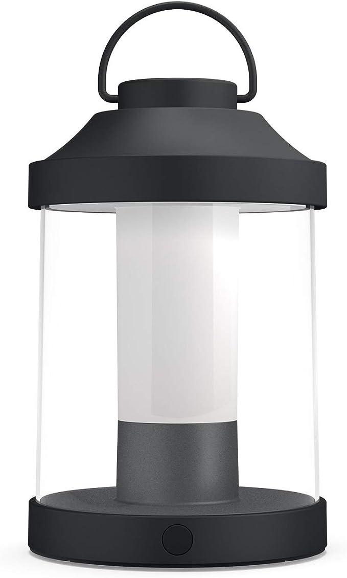 83 opinioni per Philips Luminaires Abelia Lampada da Tavolo da Esterno Senza Fili, LED