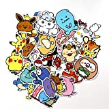 XXCKA 38 Pokemon Go Pokemon Autocollant Dessiner Main Compte Journal Casque