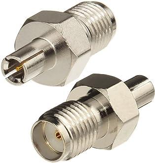 Eightwood Dab Antenne Adaptateur SMA M/âle /à SMB Femelle 2Pcs pour Antenne Voiture Satellite Sirius XM Dab Radio Antenne C/âble Pigtail A/érien