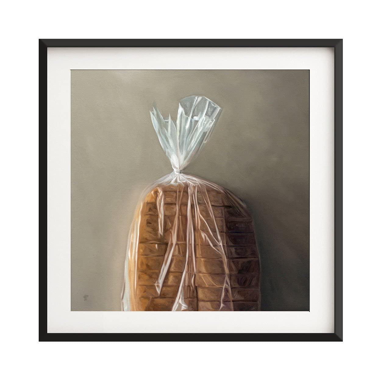 Topics on TV Loaf of Bread Fine Over item handling Print Art