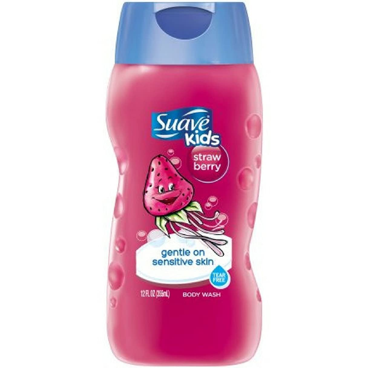 分泌する化粧険しいSuave Kids Kids Body Wash - Strawberry - 12 oz - 2 pk by Suave [並行輸入品]