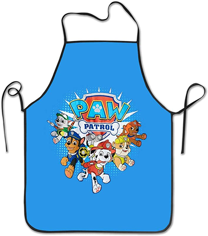 Funny Paw Patrol Aprons Adjustable Height Water Resistant For Women And Men Durable
