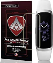 Ace Armor Shield (8 Pack) Premium HD Waterproof Screen Protector Compatible with Samsung Galaxy Fit e Fitness Watch 2019
