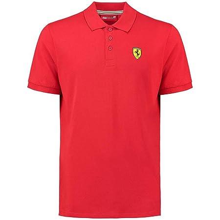 Ferrari Men's Formula 1 2018 Authentic Men's Classic Red Polo (XL)