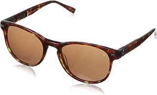 John Varvatos Men's V774 Round Polarized Sunglasses