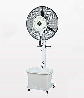 Ventilador de servicio pesado Ventilador de enfriamiento oscilante potente Ventilador silencioso/de piso Ventilador de pie de alta velocidad Ventilador de nebulización humidificador industrial de
