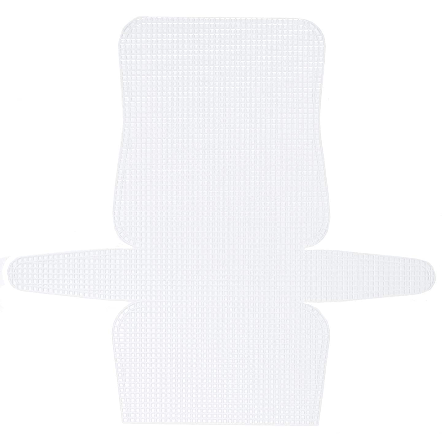 Bulk Buy: Darice DIY Crafts Purse Frame Clear 14 x 13 inches (12-Pack) 33055-1
