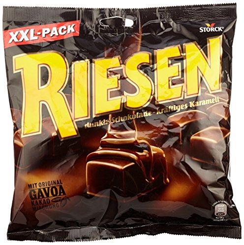 RIESEN (10 x 377g) / Karamellbonbon umhüllt von dunkler Schokolade