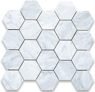 3 inch hexagon ceramic tile