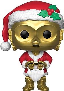 Funko Pop Star Wars: Holiday - Santa C-3Po Collectible Figure, Multicolor