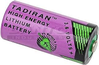 Tadiran 3.6 Volt, 1450 mAh, 2/3 AA Lithium Battery