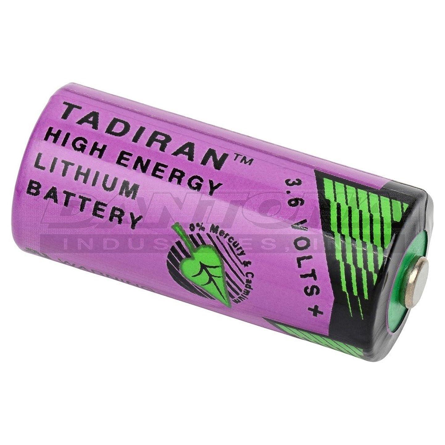Tadiran 3.6 Volt, 1450 mAh, 2/3 AA Lithium Battery lirwrqacvlx6
