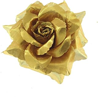 Zac's Alter Ego Rose Flower on Concord Clip & Brooch Pin
