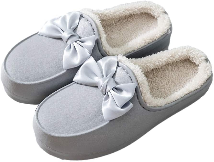 Warm Shoes Womens Cute Recommendation Slippers Ant Memory Foam Japan's largest assortment Leather