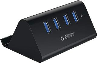 CMDZSW USB3.0 HUB Splitter Per Computer Portatile Da Tavolo Con Supporto Per Telefono Tablet PC - Nero/Bianco (Colore: 4 P...