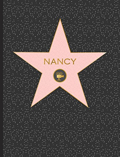 Nancy: Personalized Graph Composition Notebook, Quad Ruled 5 squares per inch, 9.75 in. x 7.5 in. (19 x 24.5 cm), Quad Ruled 5x5 Composition Notebook (Custom Graph Paper Composition Notebook, Band 1)