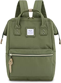 Himawari Travel Backpack Spacious School Backpack Waterproof Doctor Bag Luggage for Women&Men, 15 Inch(xk green)