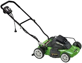 Electric Lawn Mower, 14-inch 8 Amp Mulching Electric Lawn Mower by Earthwise