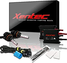 Xentec 9007 (HB5) 6000K Hi/lo Telescopic bixenon HID Xenon Bulb bundle with 55W EPE Alloy Slim Ballast (Ultra White)