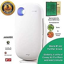 Coway Sleek Pro AP-1009 Air Purifier (Pre Filter, Patented Urethane Carbon Filter & Green Anti-flu True HEPA Filter) (Coway AP-1009)