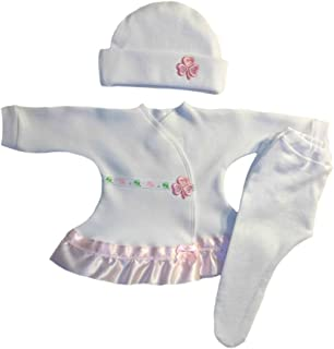 638d73efebd Jacqui s Baby Girls  Sweet Pink Shamrock Irish Dress Set