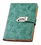 Lirener Retro PU Leder A5 Tagebuch Notizbuch Notebook Skizzenbuch Journal