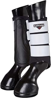 Le Mieux High Visibility Grafter Brushing Boot Small Black