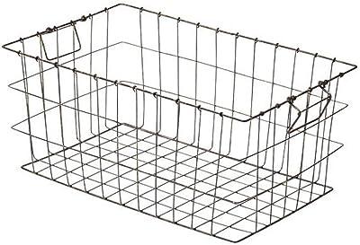 ワイヤーバスケット アンティーク44cm 55-47