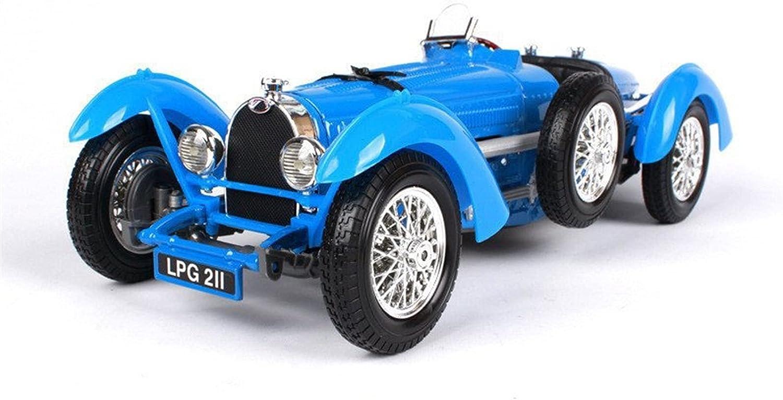JKSM Diecast Model Car Bombing free shipping 1:18 shopping 1934 Type Classic Al for Bugatti