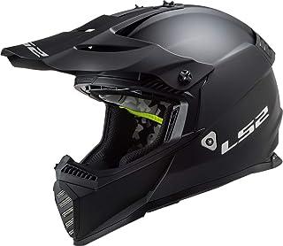 LS2, motocross helm Fast evo schwarzmat, S