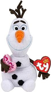 Ty Disney Frozen Olaf - Snowman with Heart
