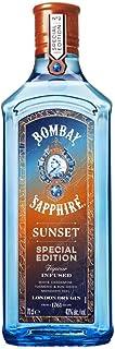 Bombay Sapphire Sunset Gin, Special Edition, Infuso con Botaniche di Cardamomo, Curcuma, Mandarino, 70 cl