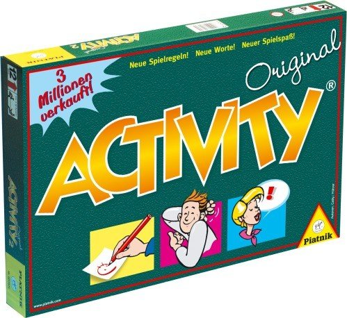 Original Activity Piatnik - Brettspiel Partyspiel Gesellschaftsspiel Familienspiel Spiel Spiele