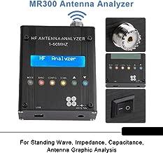 MR300 Antenna Analyzer,Acogedor MR300 Digital Shortwave Antenna Analyzer Meter Tester 1-60M for Ham Radio for Standing Wave, Impedance, Capacitance,Antenna Graphic Analysis