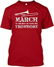 March to The Best of Your own. XLT - Deep red Tshirt - Hanes Tagless Tee