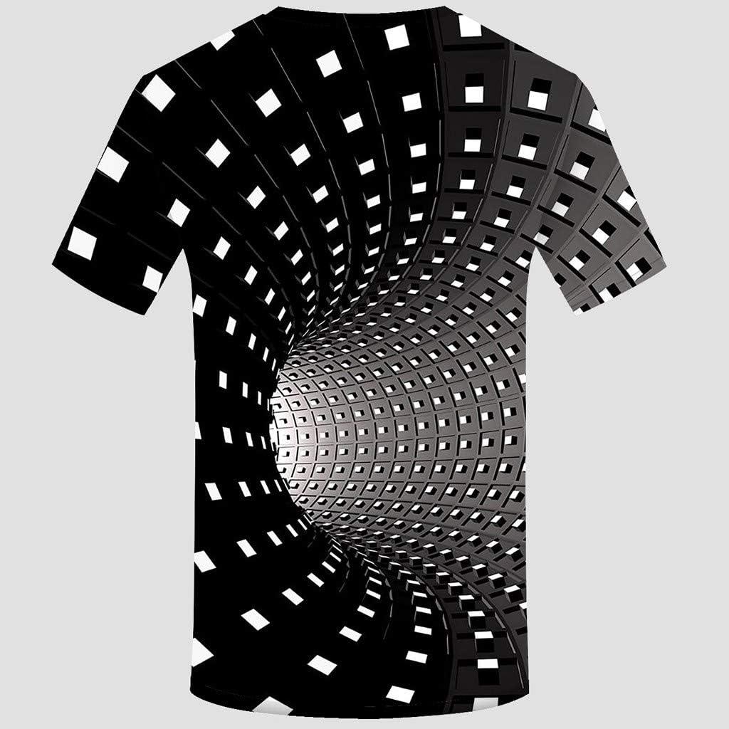 Sylar Camiseta Hombre Verano Manga Corta Moda 3D Estampado T-Shirt Originales Cuello Redondo Tops de Verano Casual Blusas Camisas tee