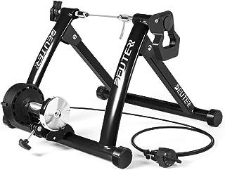 ローラー台 固定 サイクルトレーナー マグネット式 6段階負荷調整 折りたたみ可 自転車用 固定ローラー 26~28インチ対応 専用クイックレリーズ/マグライザー付き 取扱説明書付き MT-04