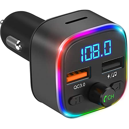 Oria Bluetooth Fm Transmitter Kfz Auto Radio Adapter Elektronik