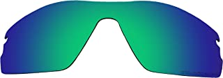 BVANQ Polarized Replacement Lenses for Oakley Radar Pitch Sunglasses Green Mirror Coatings