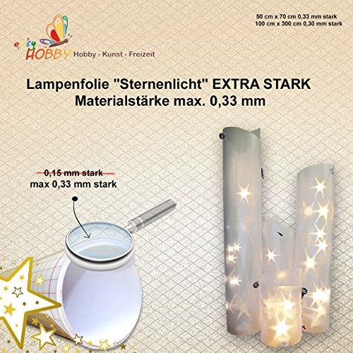 SMITS 3D-Sterneffekt-Folie, 0,33 mm (50 cm x 70 cm)