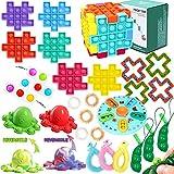 Fidget Toy 26 Pcs Pack Fidget Set Toys,...