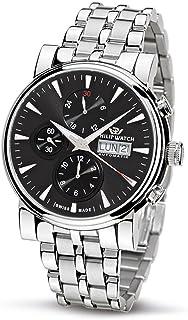 Philip Watch - R8243693025 - Reloj de caballero automático, correa de acero inoxidable color plata