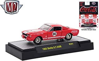 M2 Machines 1965 Ford Shelby Mustang GT350R Coca-Cola Release RC01 - 2018 Castline Hobby Edition 1:64 Scale Die-Cast Vehicle Set (RC01 18-18)