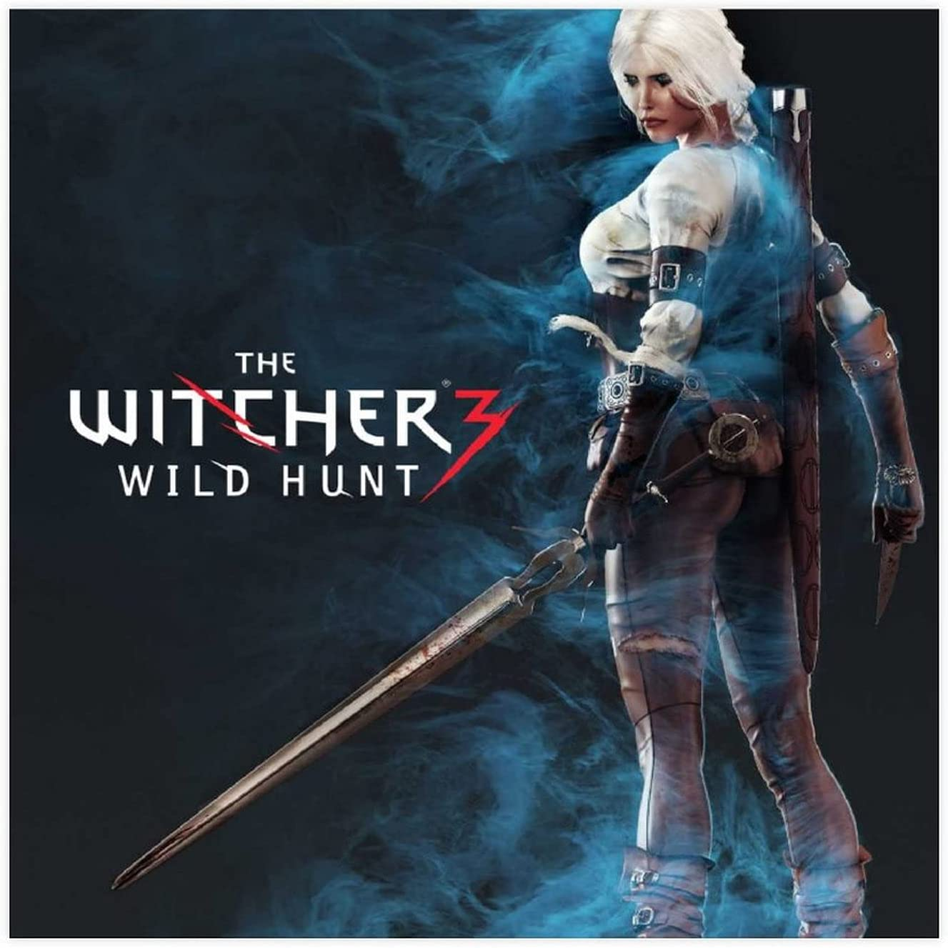 The Most Popular 2021 new Game Witcher 3 Canva Columbus Mall Fiend 4 Ciri Hunt Wild