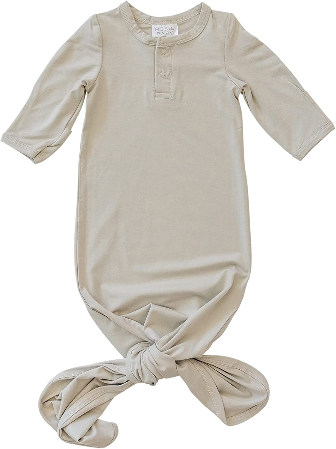 Mebie Baby Stretch Knot Unisex Gowns